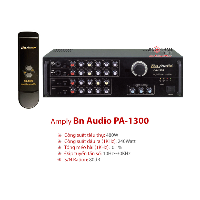 Amply Boston audio PA 1300