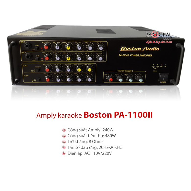 Amply Boston Audio PA 1100II