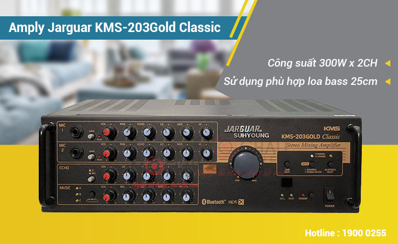 amply-jarguar-kms-203gold-classic