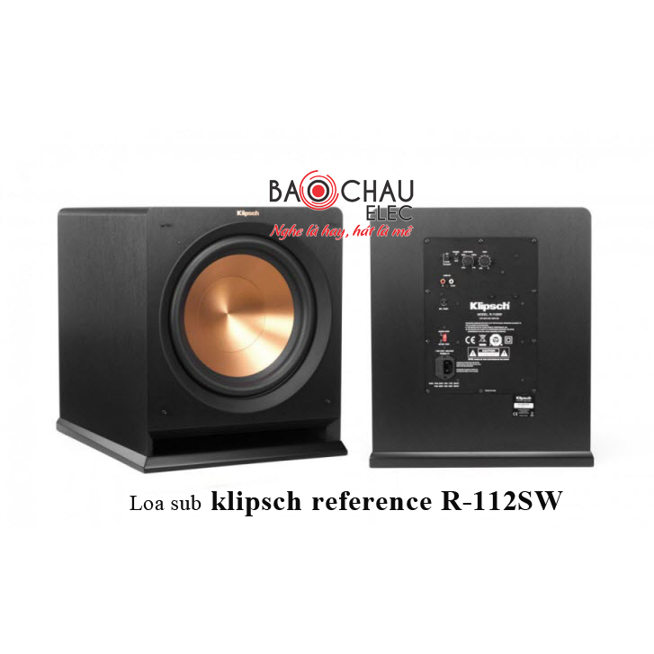 Loa sub Klipsch reference R-112SW